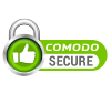 This webiste is secured via Comodo SSL